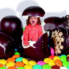 Lapsia sokeripäissään?